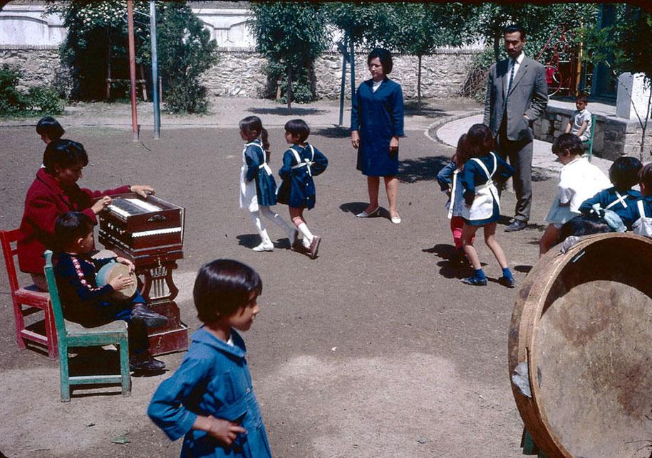 Dançando no Jardim de Infância