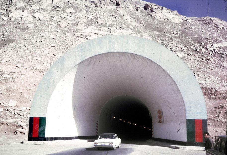 Entrada do túnel de Salang